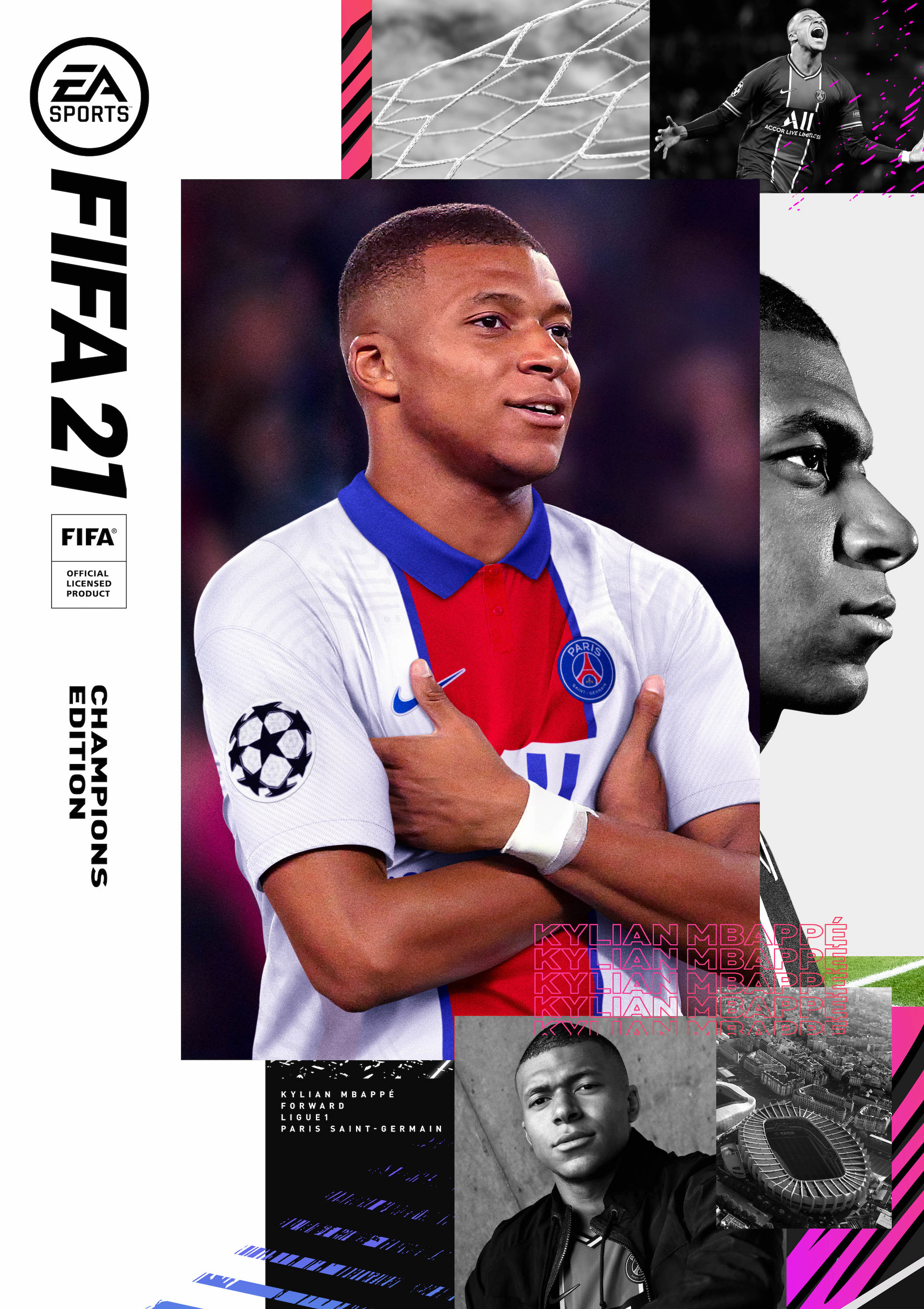 mbappe is the cover star of fifa 21