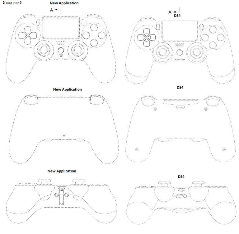 Trapela il brevetto con il design del controller di PS5