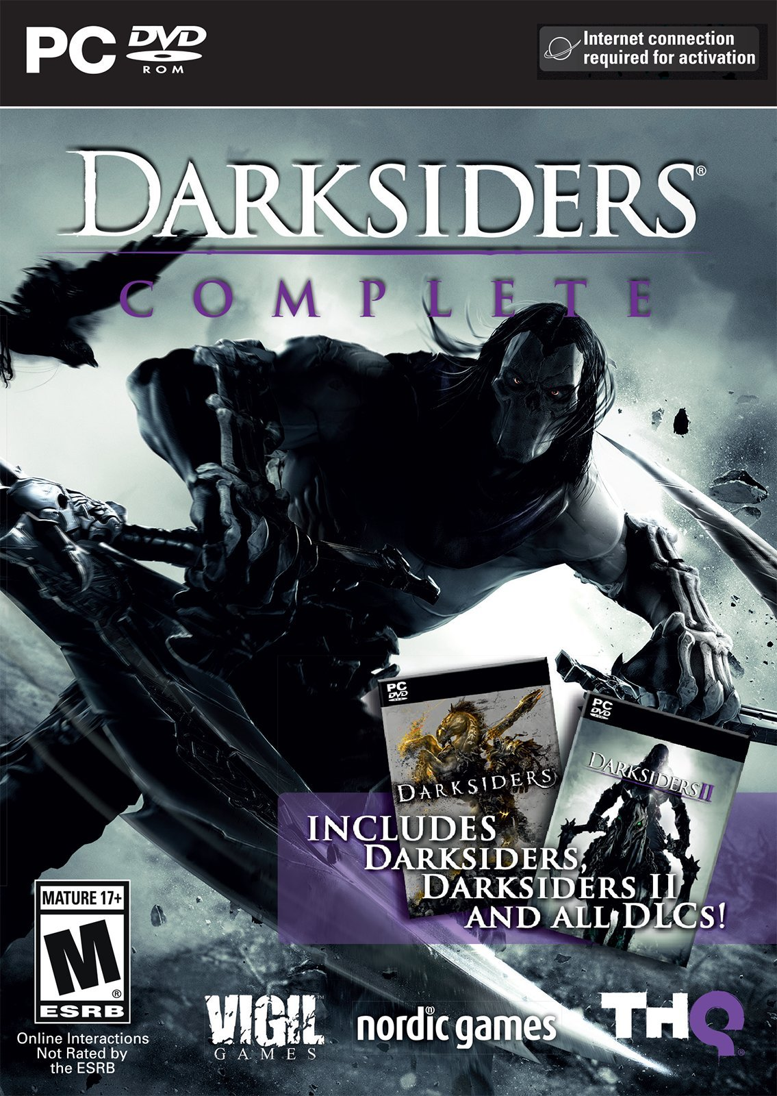 Darksiders Collection Release Date PS3 Xbox 360 PC