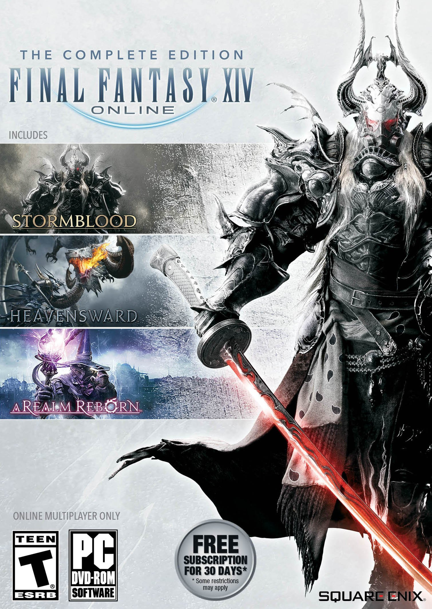 Final Fantasy XIV Stormblood Complete Edition Release Date PC PS4