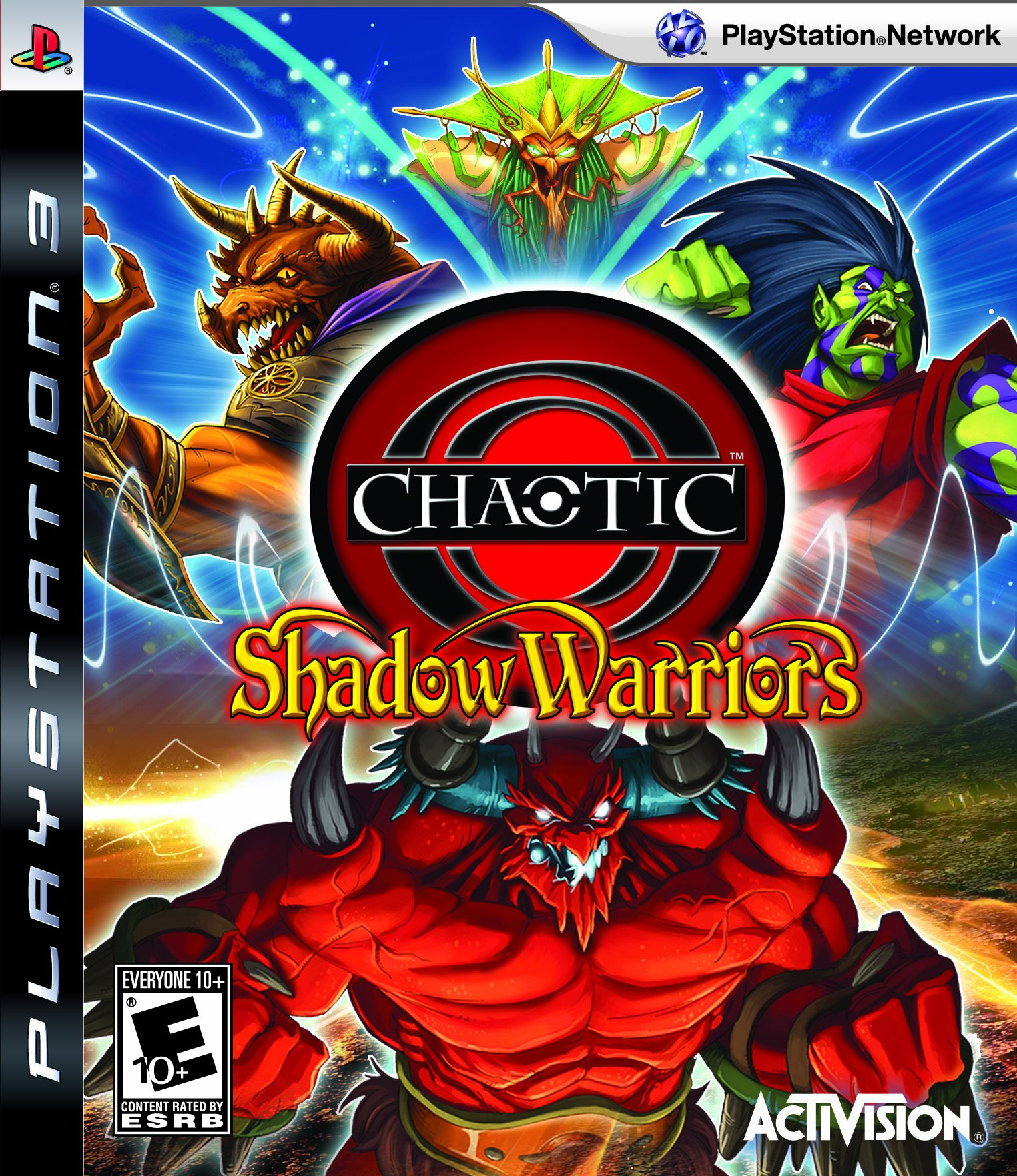 Chaotic Shadow Warriors Release Date PS3 Wii DS