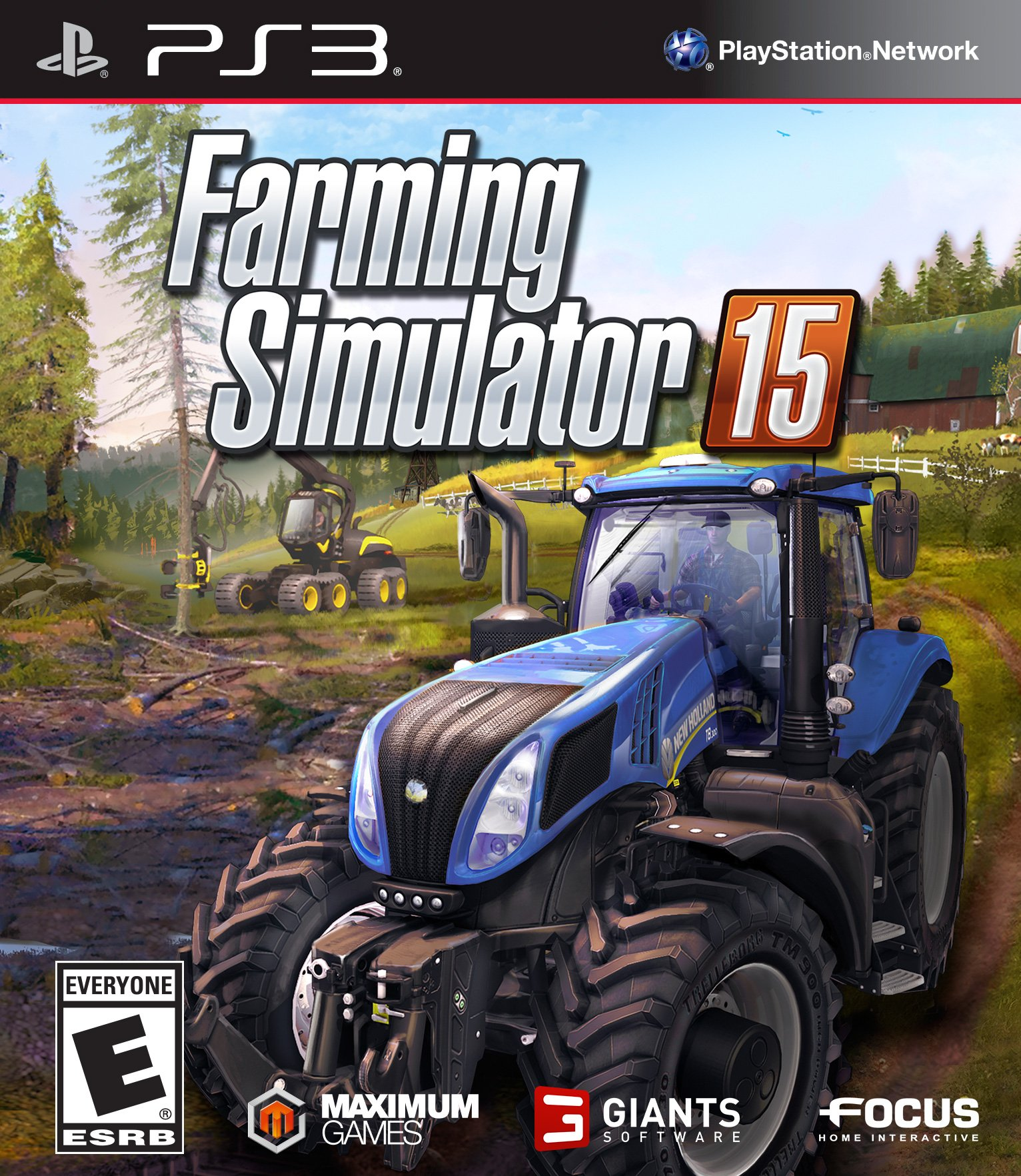 Farming Simulator 15 Release Date Xbox 360 PS3 Xbox One PS4