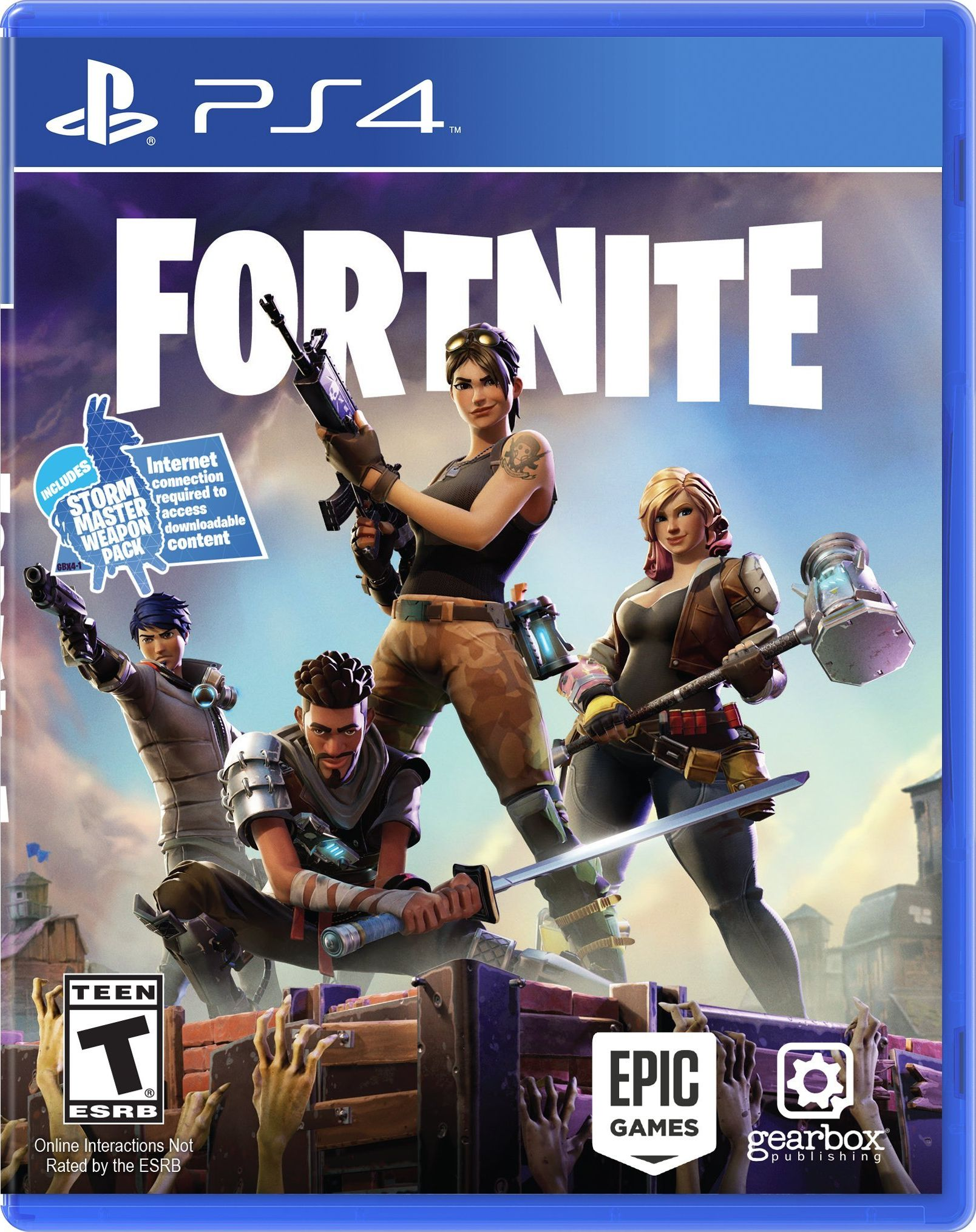 Fortnite Release Date Xbox One PS4