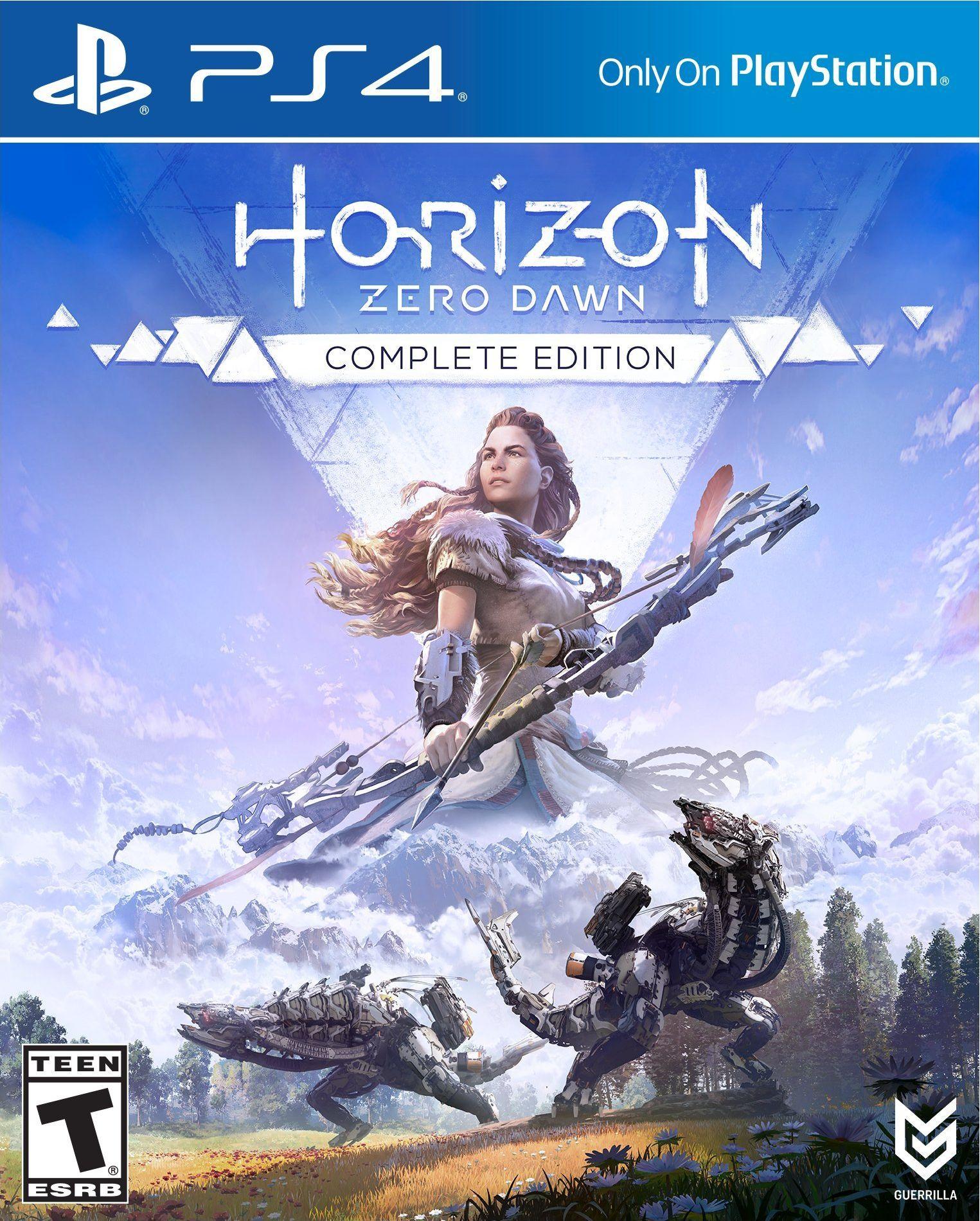 Horizon Zero Dawn Collectors Edition Release Date PS4