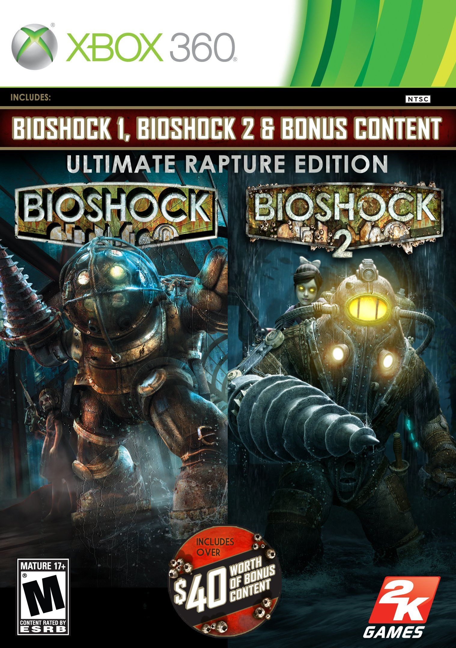 BioShock Ultimate Rapture Edition Release Date Xbox 360 PS3