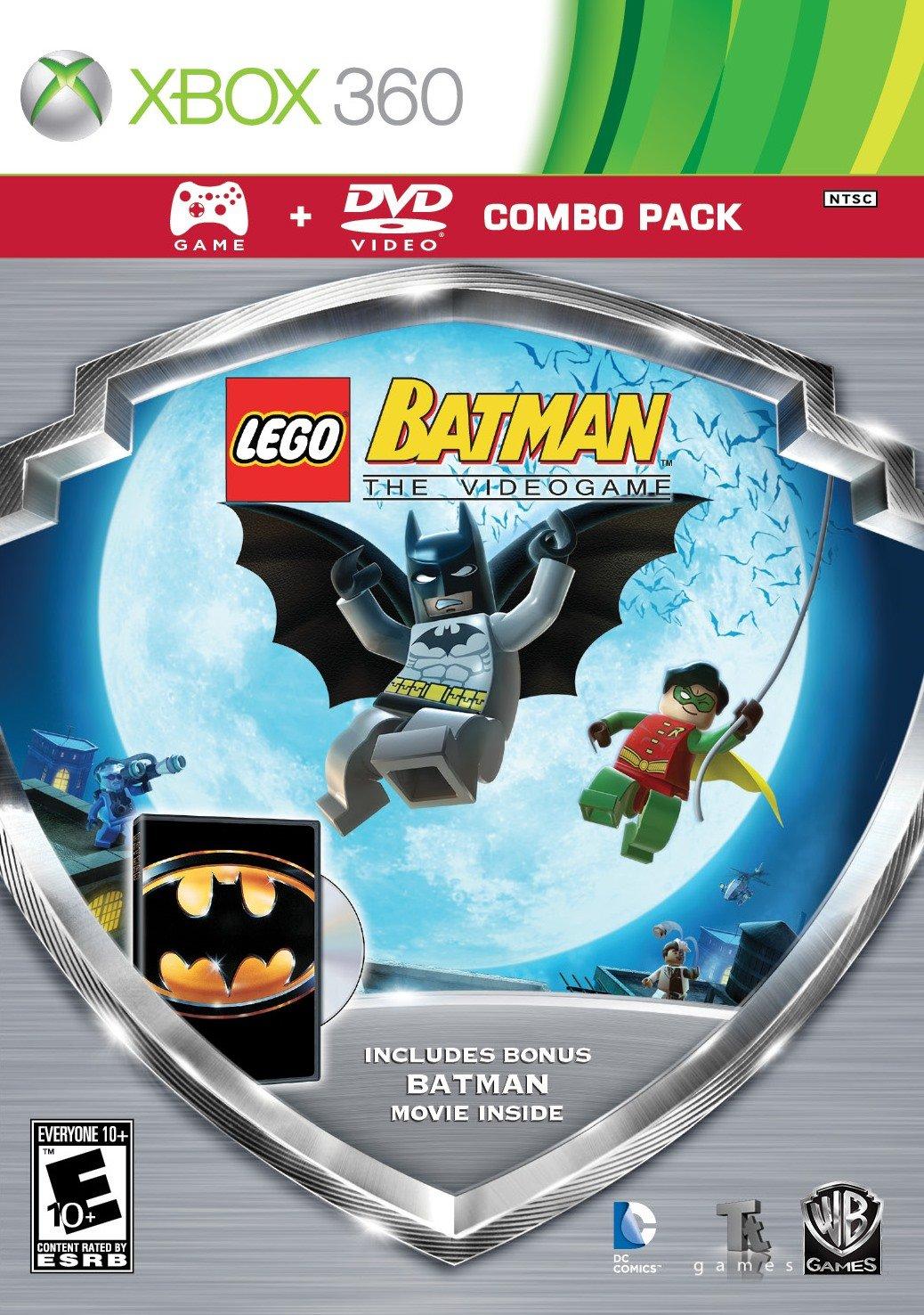 LEGO Batman  Silver Shield Combo Pack Release Date Xbox