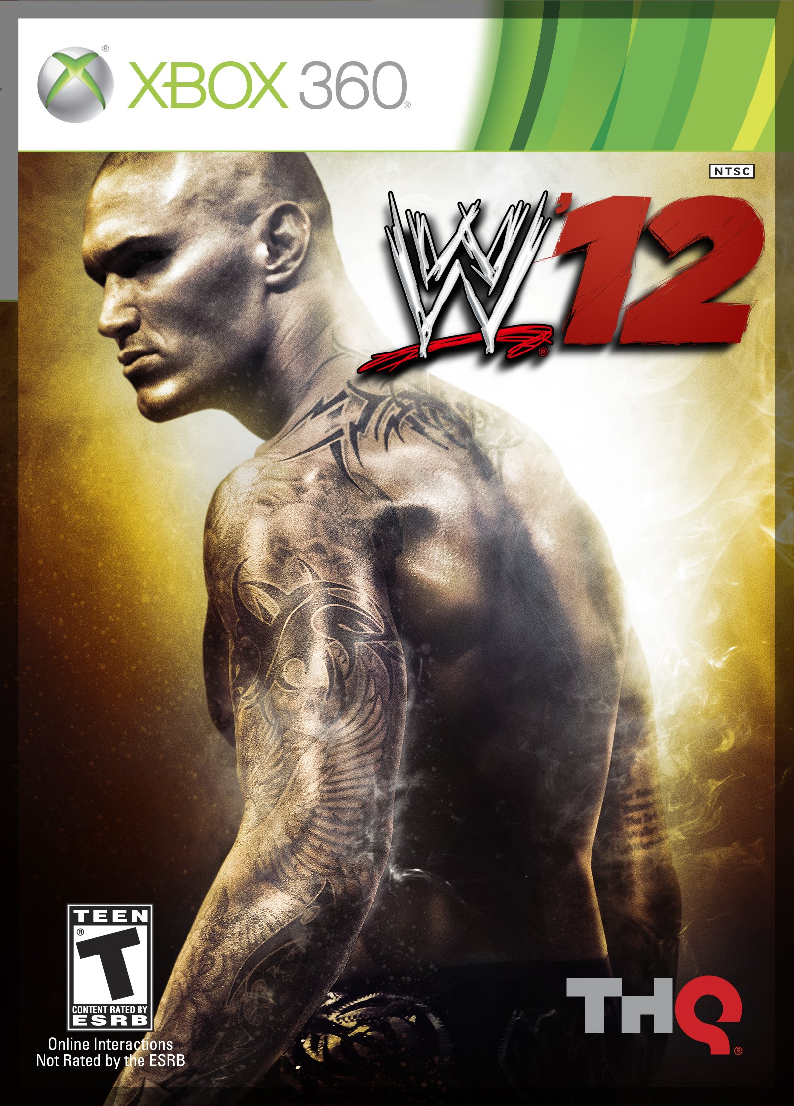WWE 12 Release Date Xbox 360 PS3 Wii