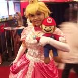Princesa Peach esteve presente, apesar da Nintendo nem ter dado as caras