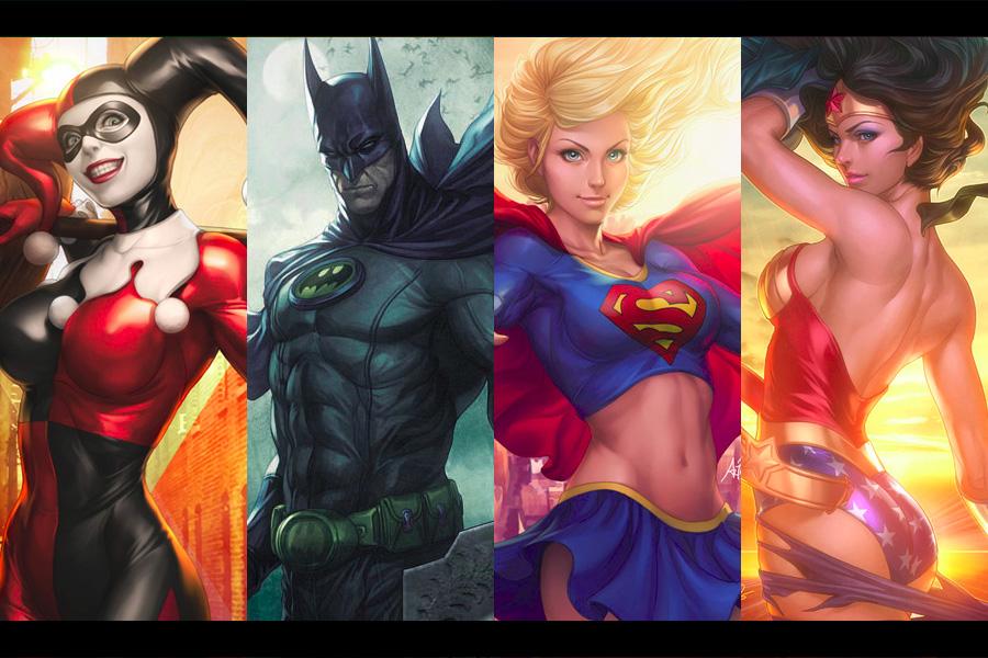 Las ilustraciones más impactantes del Universo DC Comics – Tributo a Artgerm Parte 1