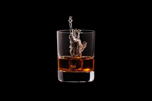 Suntory Whisky CNC figuras hielo Libertad