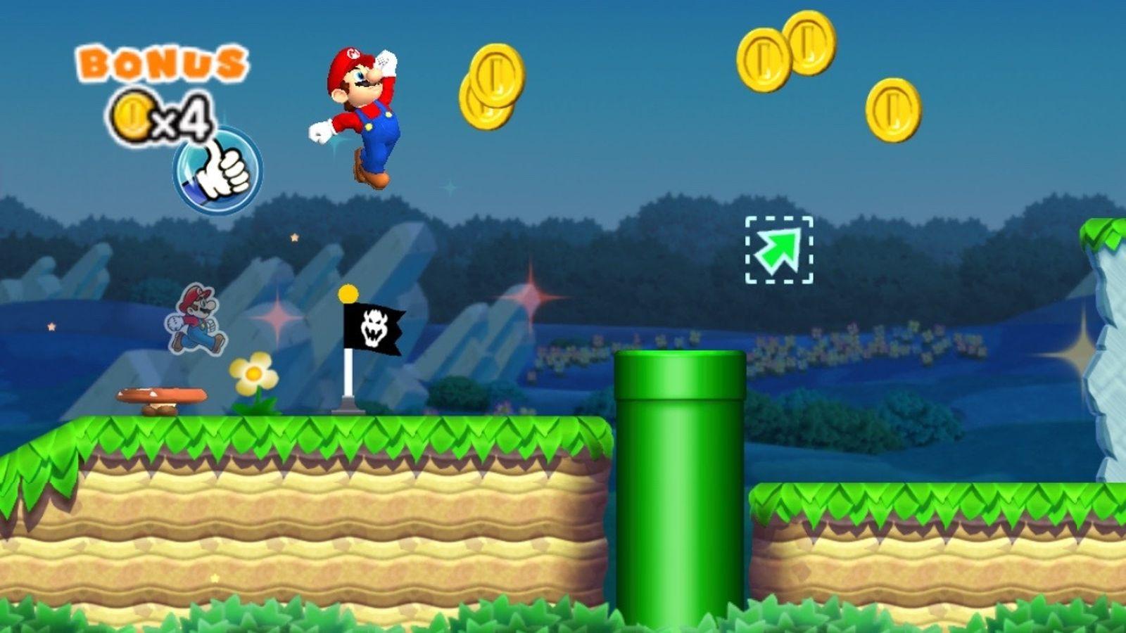 Así es como se jugará Super Mario Run