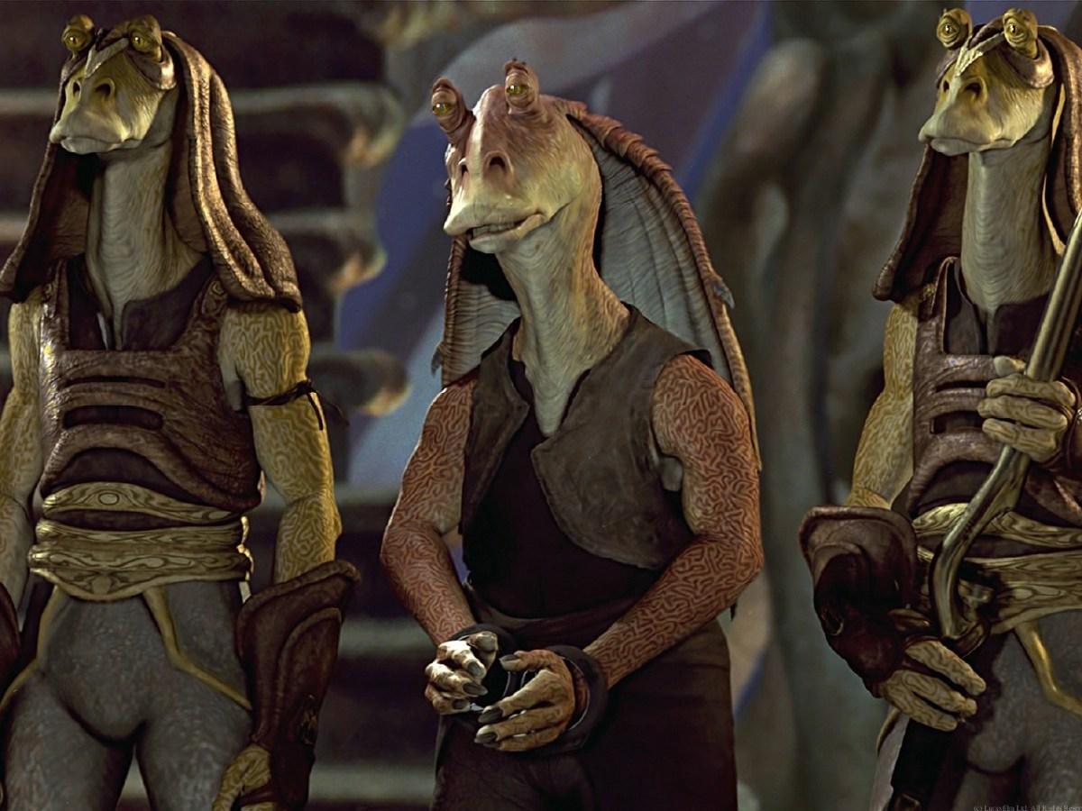 Conoce qué le pasó a Jar Jar Binks después del Episodio III de Star Wars