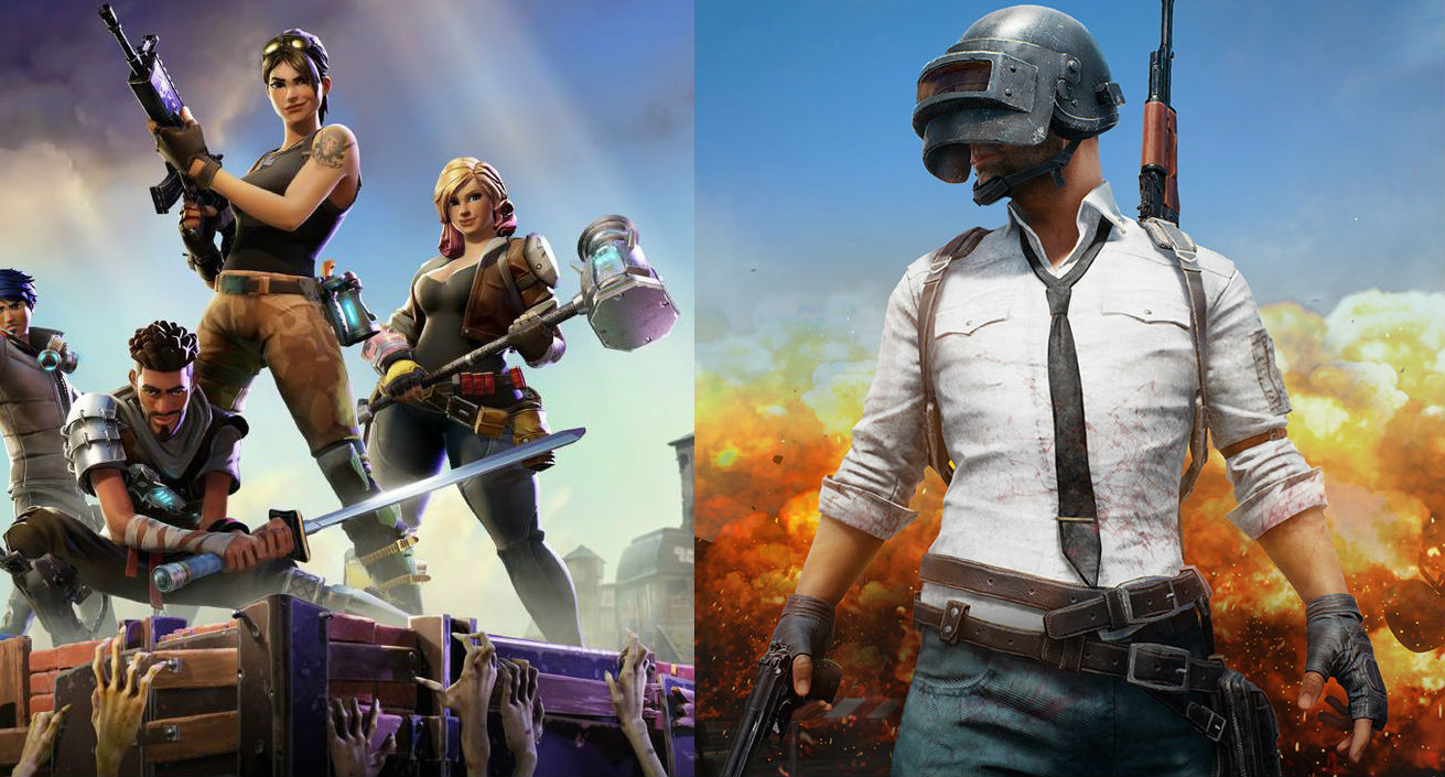 Bluehole está molesto por el modo Battle Royale de Fortnite