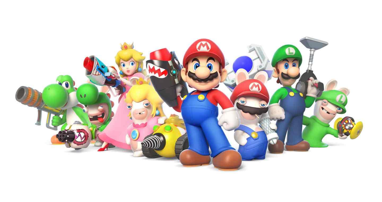 Mario + Rabbids para Nintendo Switch tendrá un modo multijugador