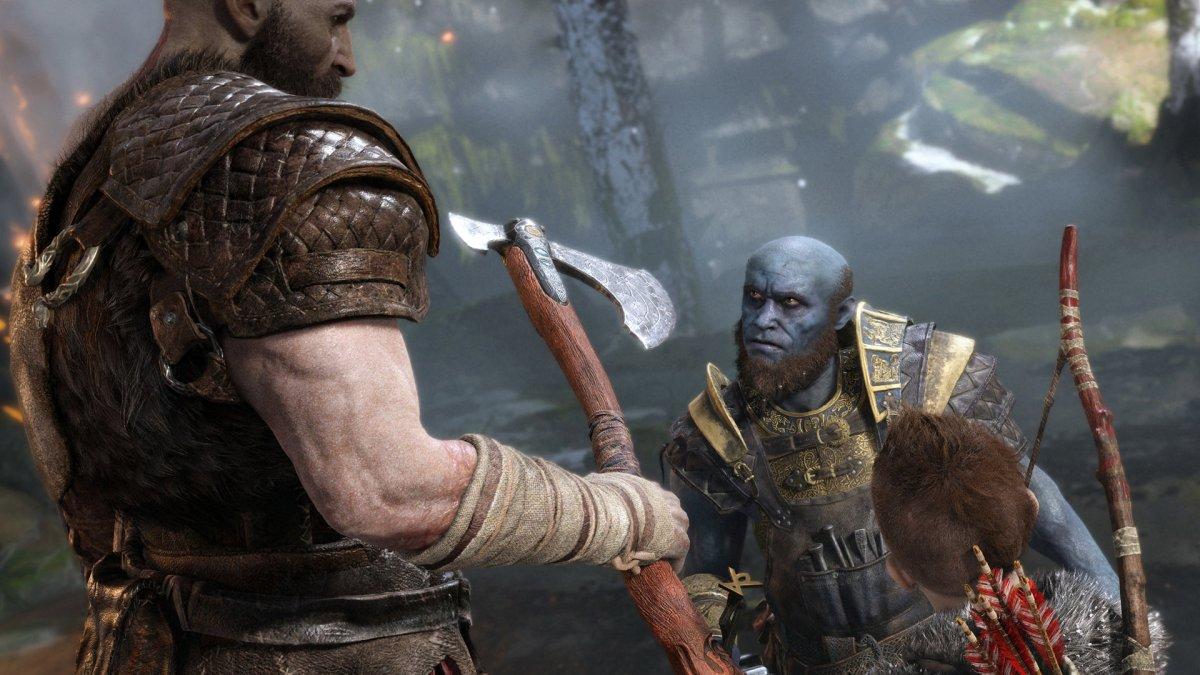 ¿Por qué Kratos tiene un hacha como arma principal en God of War?