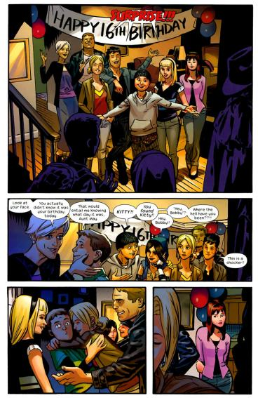 Ultimate Spider-Man - Peter Birthday