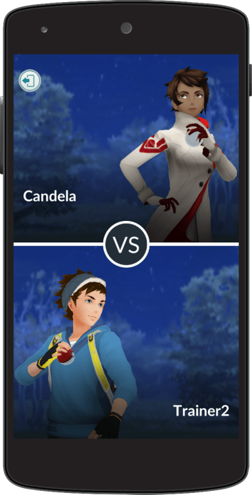 Pokémon GO - Combate de Entrenador (5)