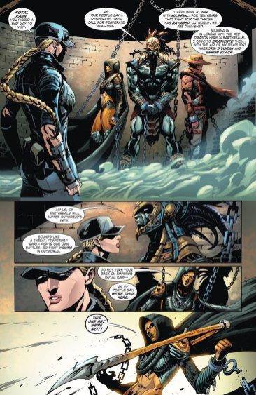 Mortal Kombat (Comic) - Kotal Kahn