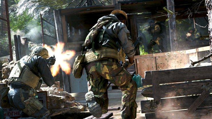 Call of Duty: Modern Warfare - Tiroteo