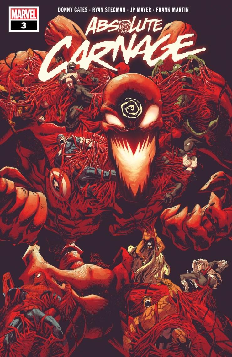 Absolute Carnage - Spider-Man - Venom - Marvel