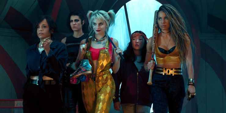 Harley Quinn - Aves de Presa