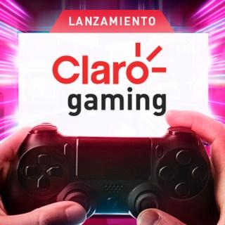 Claro Gaming es la nueva iniciativa para gamers de Claro, te invitamos al lanzamiento