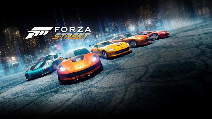 Forza Street - Samsung - Microsoft