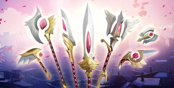 Dauntless armas unión de los santos