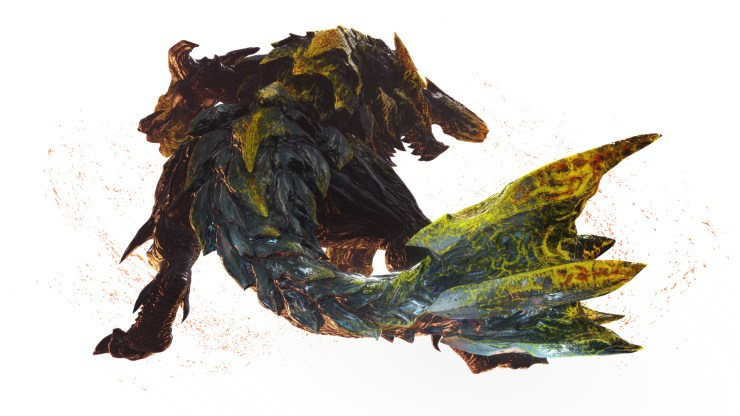 Brachydios colérico en Monster Hunter World: Iceborne