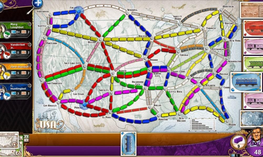 Carcassonne y Ticket To Ride son los juegos gratis de la ...