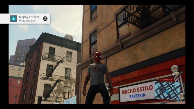 Platino Spider-Man