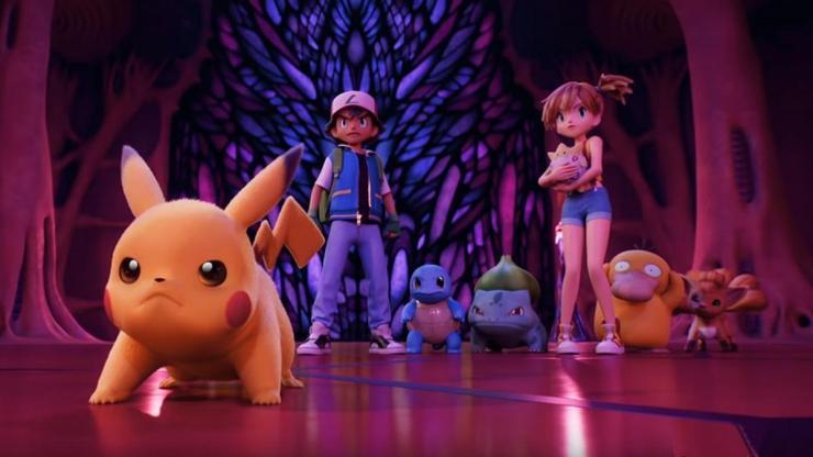 Pokémon Mewtwo Contraataca - Evolución