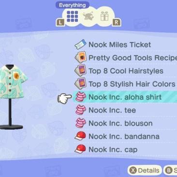 Nook cuenta con su propia línea de ropa.