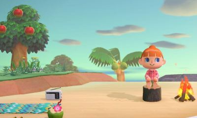 modo foto Animal Crossing: New Horizons