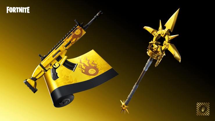 Fortnite desafíos de oro