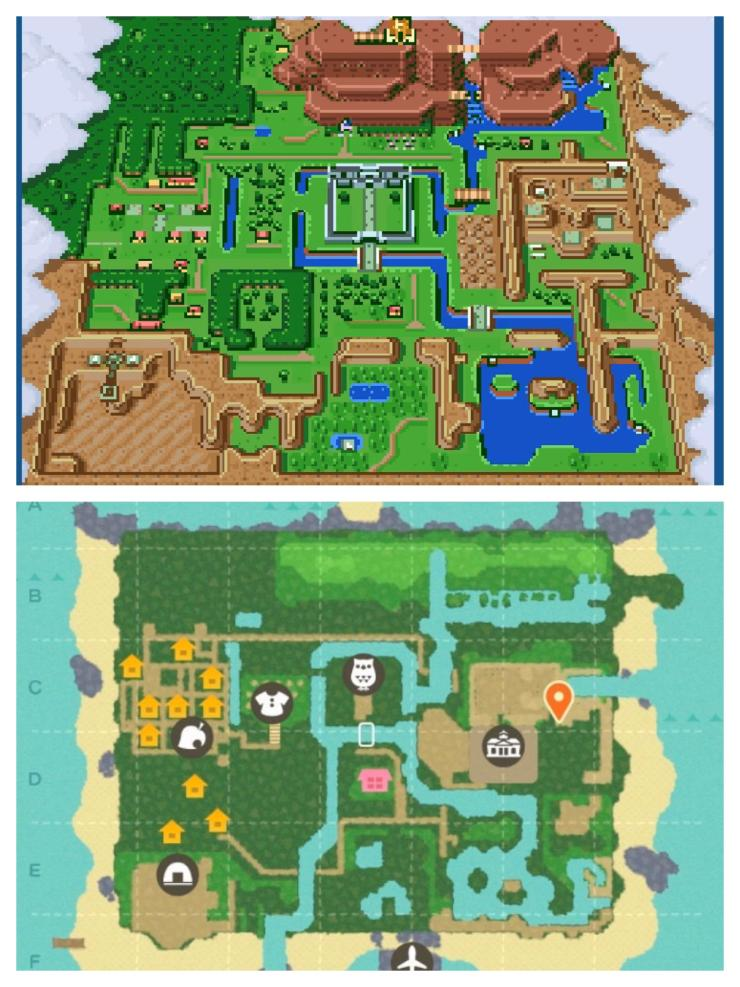 A Link to the Past en Animal Crossing: New Lead