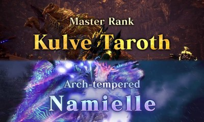 Monster Hunter World: Iceborne kulve taroth namielle