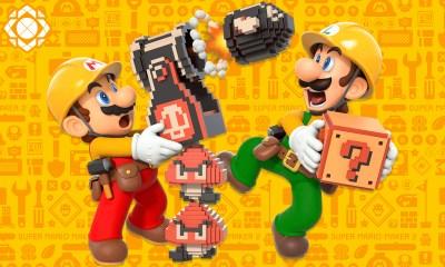 Super Mario Maker 2 marcadores