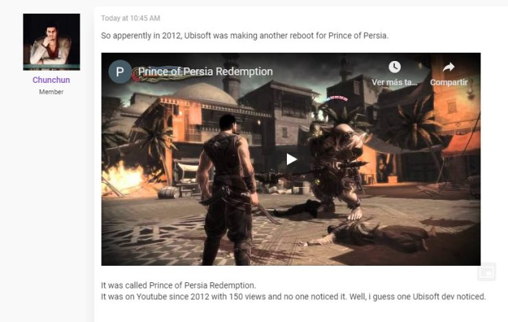 Prince of Persia: Redemption