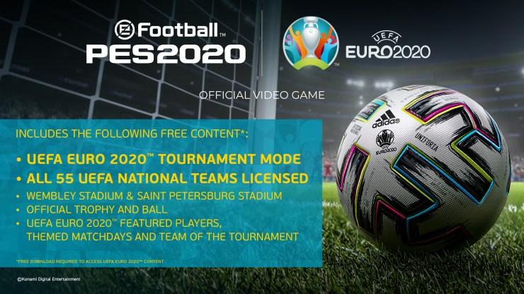 eurocopa pes 2020