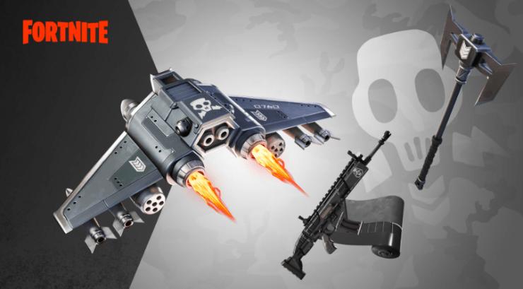 Fortnite ataque a la agencia