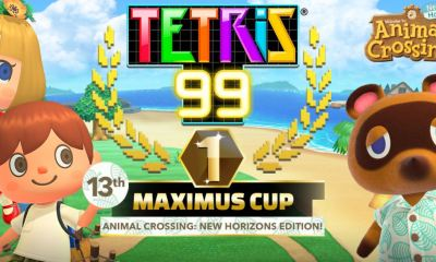 Tetris 99 animal crossing