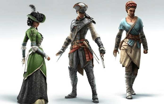 Assassin's Creed Liberation Personas