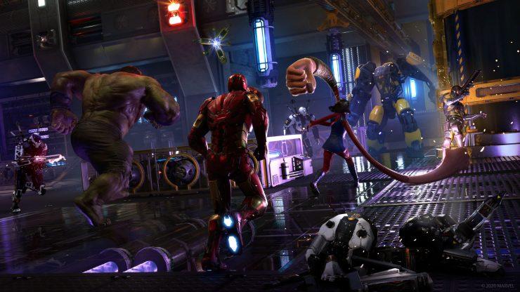 Marvel - Avengers - beta