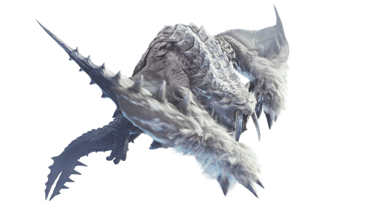 Monster Hunter World: Iceborne Barioth Frostfang