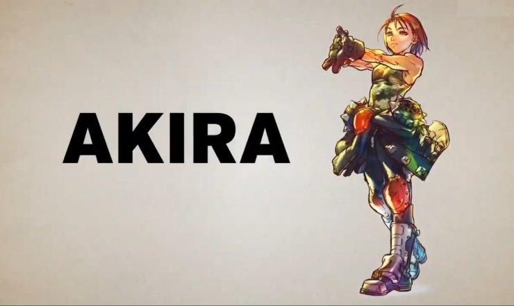 cuando llegará Akira a Street Fighter V