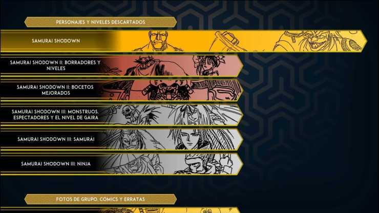 Samurai Shodown: NeoGeo Collection Reseña