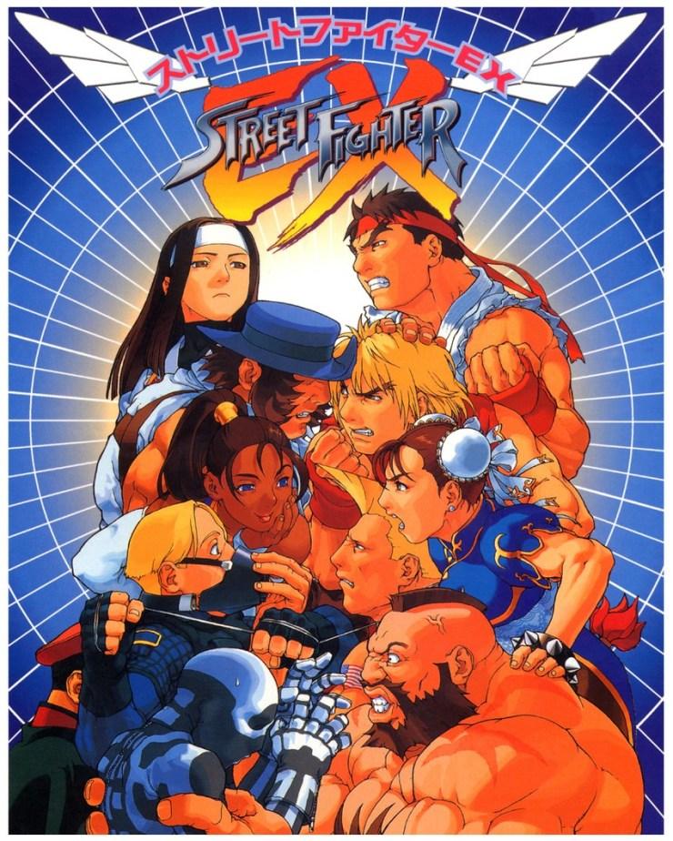 Street Fighter V Fighting EX Layer