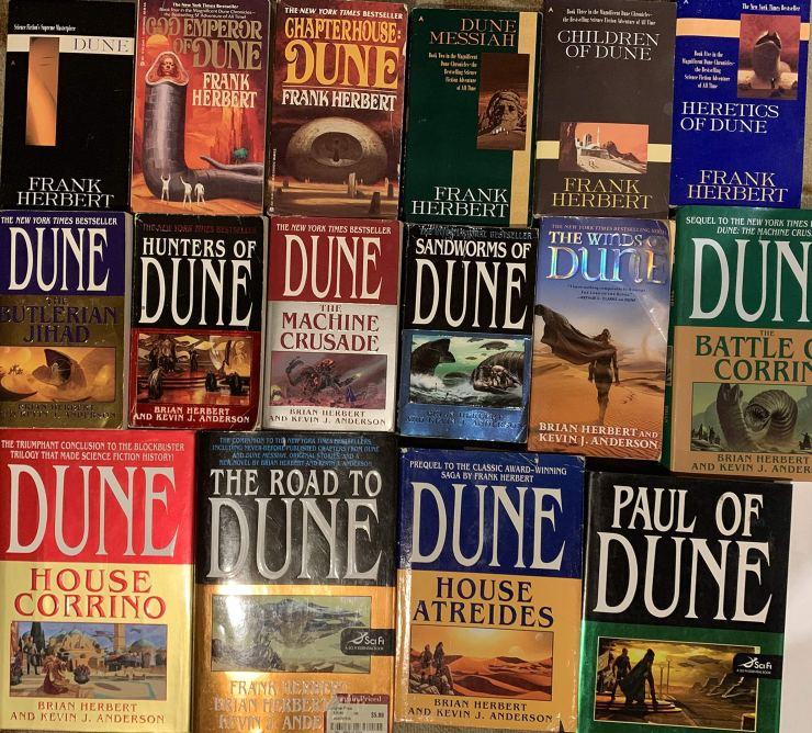 Libros de Dune
