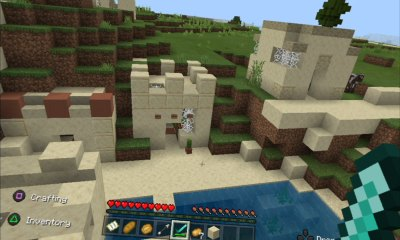 Minecraft realidad virtual